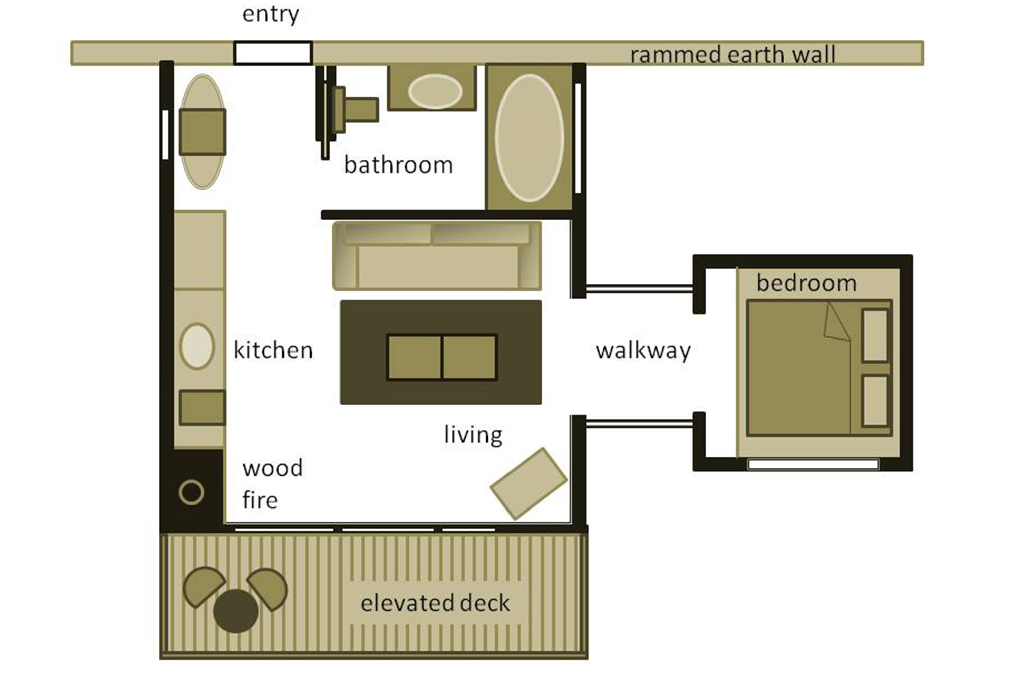Studio 3 Floorplan