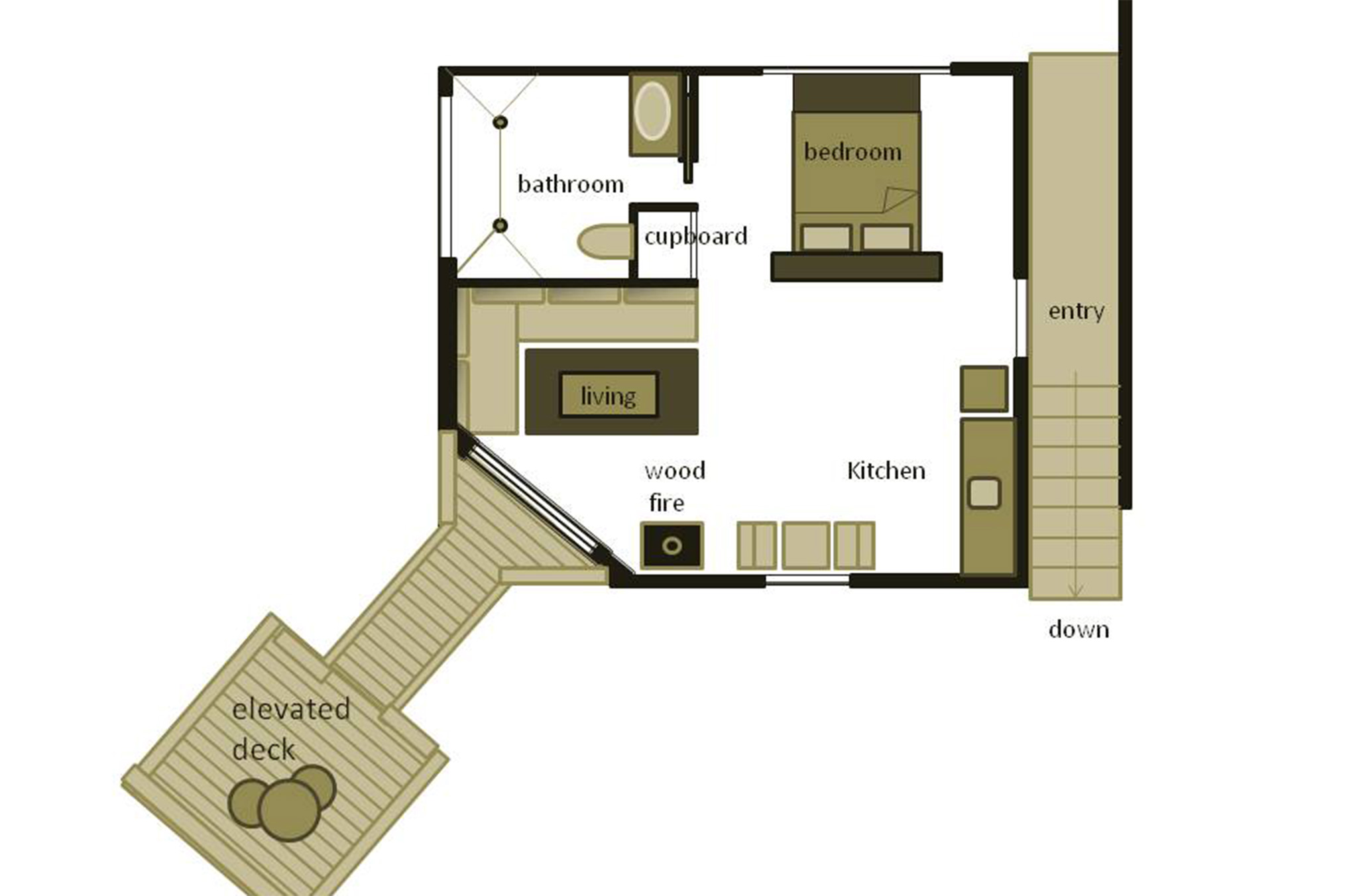 Studio 4 Floorplan